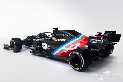 Alpine livery unveil