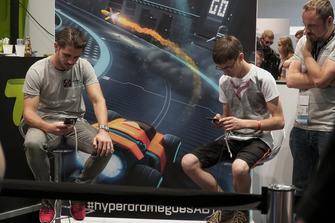 Präsentation Hyperdrome game mit Daniel Abt