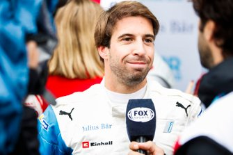 Antonio Felix da Costa, BMW I Andretti Motorsports being interviewed by the media