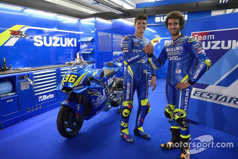 Joan Mir se junta a Álex Rins na Suzuki Ecstar MotoGP