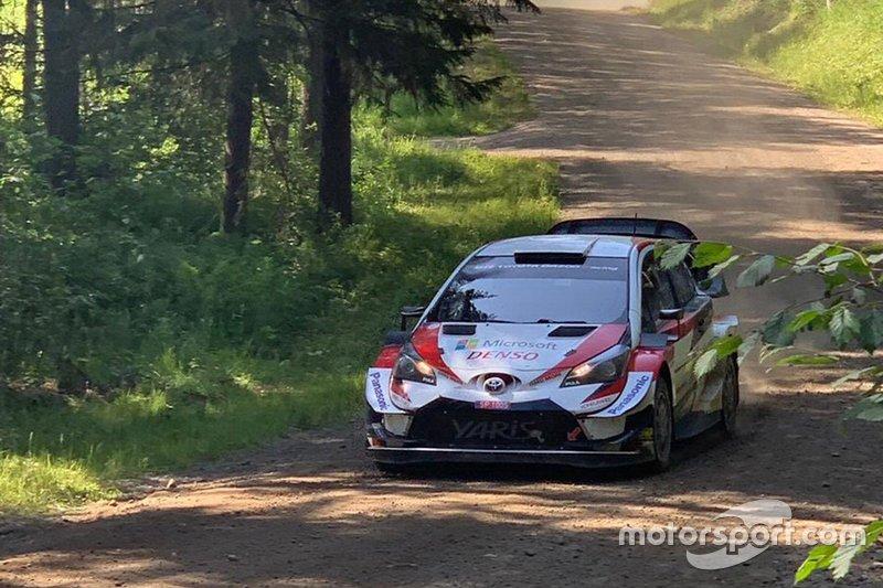 Valtteri Bottas testet WRC-Toyota
