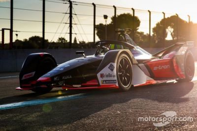 Audi Mallorca testing