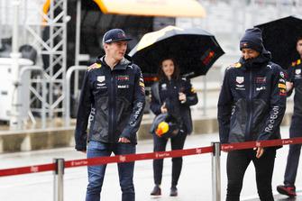 Max Verstappen, Red Bull Racing, and Daniel Ricciardo, Red Bull Racing