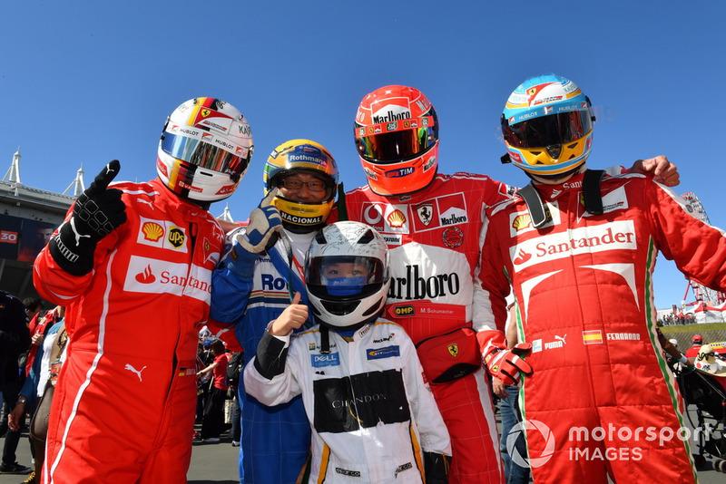 Болельщики Ferrari и McLaren