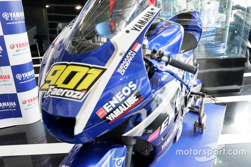 Motor balap AP250 ARRC, M Faerozi, Yamaha Racing Indonesia