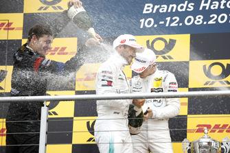 Podio: Paul Di Resta, Mercedes-AMG Team HWA y Gary Paffett, Mercedes-AMG Team HWA