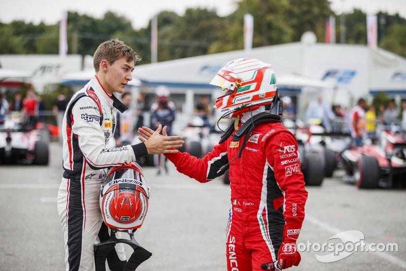 George Russell, ART Grand Prix, Antonio Fuoco, Charouz Racing System