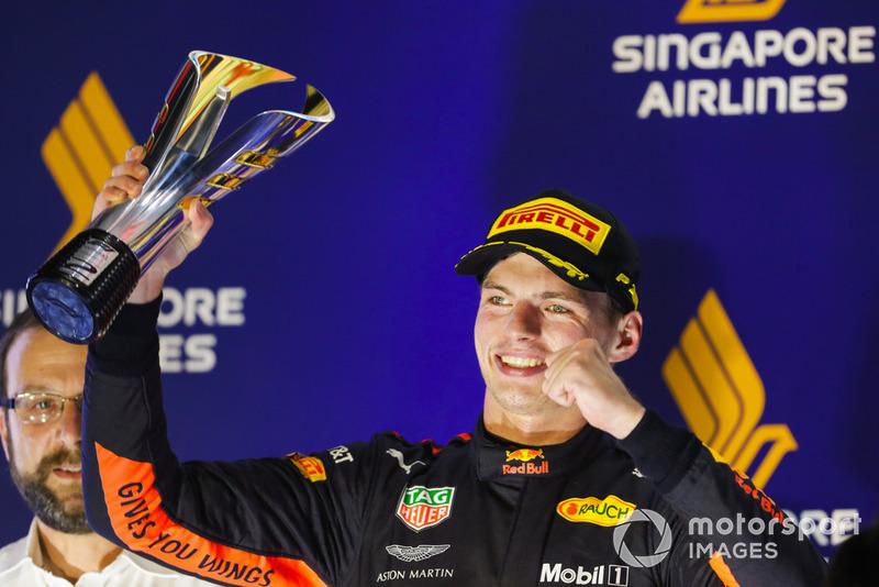 Tweede plaats: Max Verstappen, Red Bull Racing RB14