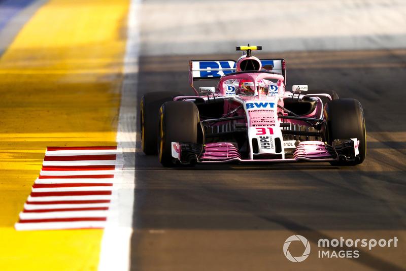 13. Esteban Ocon, Racing Point Force India VJM11