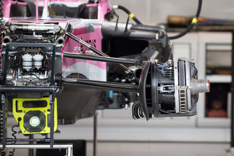 Racing Point Force India VJM11, підвіска