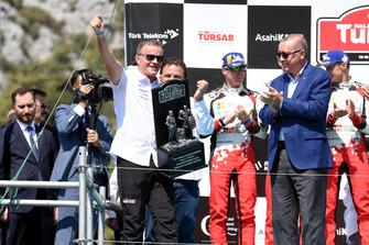 Tommi Makinen, Toyota Gazoo Racing Team Manager, Recep Tayyip Erdoğan, president Turkije