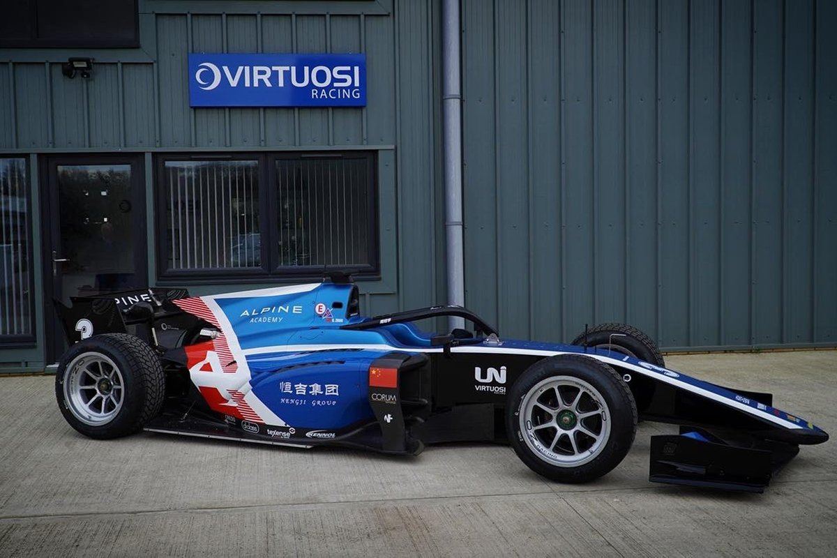 Livery Uni-Virtuosi F2 team