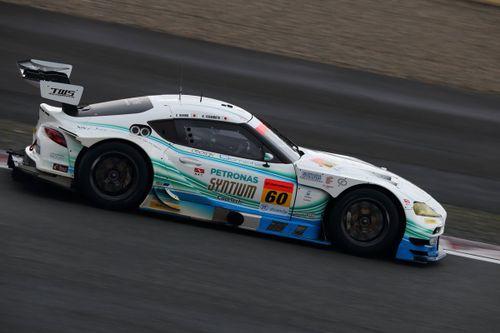 Super-GT-Test in Fuji