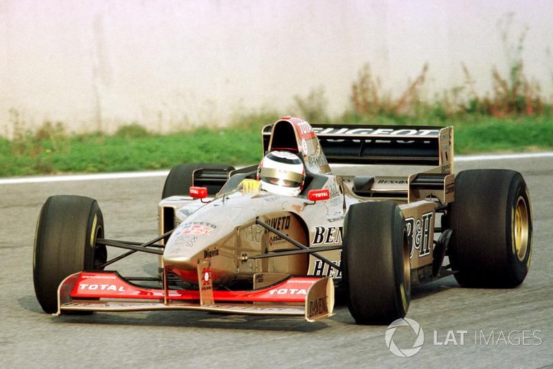 1996: тесты с Jordan