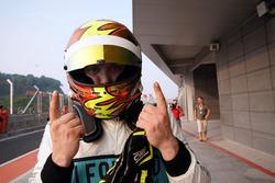 Pole position per Rob Huff, Leopard Racing Team WRT, Volkswagen Golf GTi TCR