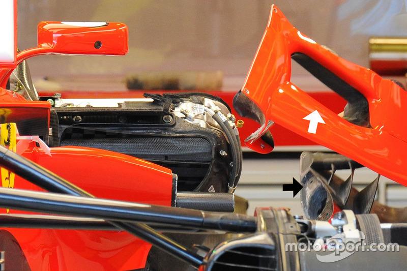 Ferrari SF70H отвори бокових понтонів
