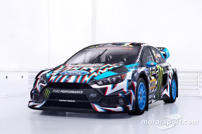 The car of Ken Block, Hoonigan Racing Division, Ford Focus