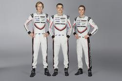 رقم 2 فريق بورشه 919 الهجينة: برندون هارتلي، إيرل بامير، تيمو بيرنهارد