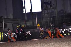 Chute de Johann Zarco, Monster Yamaha Tech 3