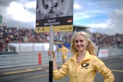 Chica de la parrilla, David Beckmann, Motopark, Dallara F317 – Volkswagen,