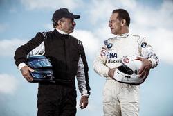 Klaus Ludwig, Mercedes 190 E DTM und Johnny Cecotto, BMW M3 DTM