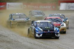 Johan Kristoffersson, PSRX Volkswagen Sweden, VW Polo GTi, führt