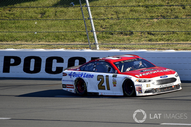 #6: Motorcraft von Ryan Blaney, Wood Brothers Racing