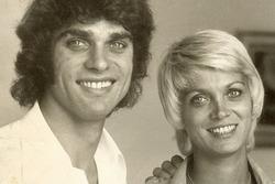 François Cevert con la sorella Jacqueline, che sposò il collega pilota Jean-Pierre Beltoise