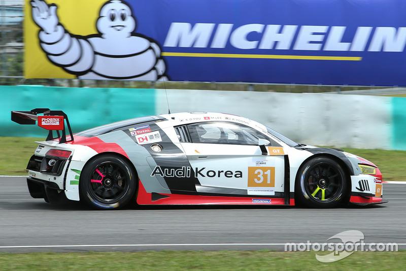 #31 Team Audi Korea, Audi R8 LMS GT3: Kyong Ouk You, Marchy Lee, Alex Yoong