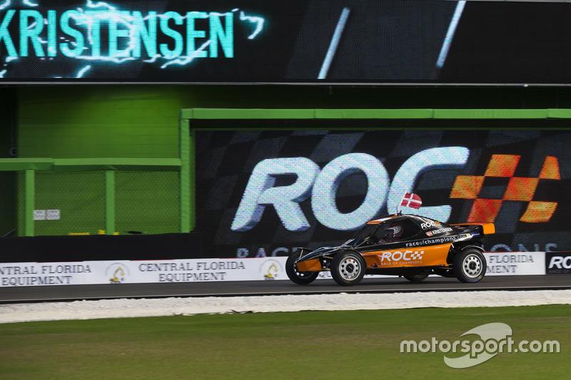 Tom Kristensen, conduce el ROC Car