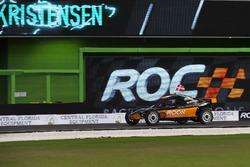 Tom Kristensen, driving the ROC Car