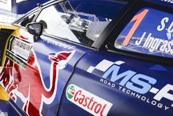 M-Sport, Ford Fiesta detalle del coche