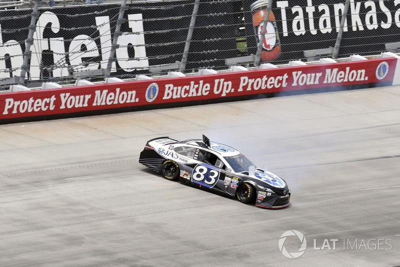 Dreher: Ryan Sieg, BK Racing, Toyota