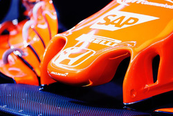 McLaren MCL32 burun detay