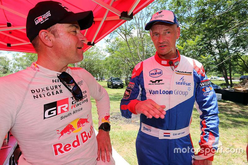 Giniel de Villiers, Toyota Gazoo Racing, Erik van Loon, Van Loon Racing