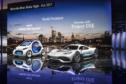 Smart Vision EQ Fortwo mit Mercedes-AMG Project ONE