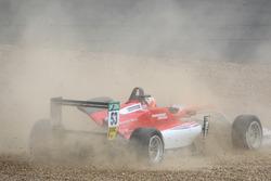 Callum Ilott, Prema Powerteam, Dallara F317 - Mercedes-Benz spins