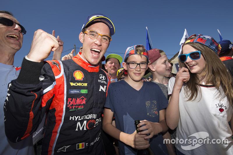 Winner Thierry Neuville, Hyundai Motorsport