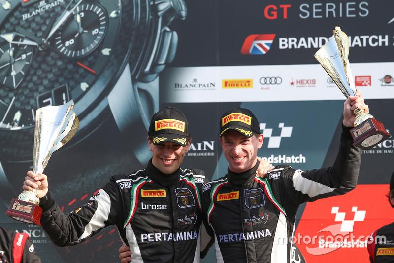 Blancpain GT: Кристиан Энгельхарт и Мирко Бортолотти
