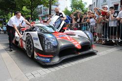 #7 Toyota Gazoo Racing Toyota TS050 Hybrid : Mike Conway, Kamui Kobayashi, Stéphane Sarrazin