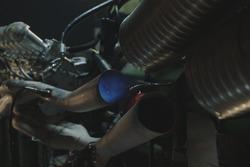 La prima accensione del motore della Ferrari 312B dopo il restauro a cura del team Motortecnica guidato da Mauro Forghieri.