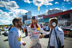 Timo Glock, BMW Team RMG, BMW M4 DTM, René Rast, Audi Sport Team Rosberg, Audi RS 5 DTM, Stefan Reinhold, BMW Team RMG, Teamchef