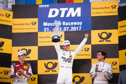 Podium: winnaar Maro Engel, Mercedes-AMG Team HWA, Mercedes-AMG C63 DTM, tweede Mattias Ekström, Aud