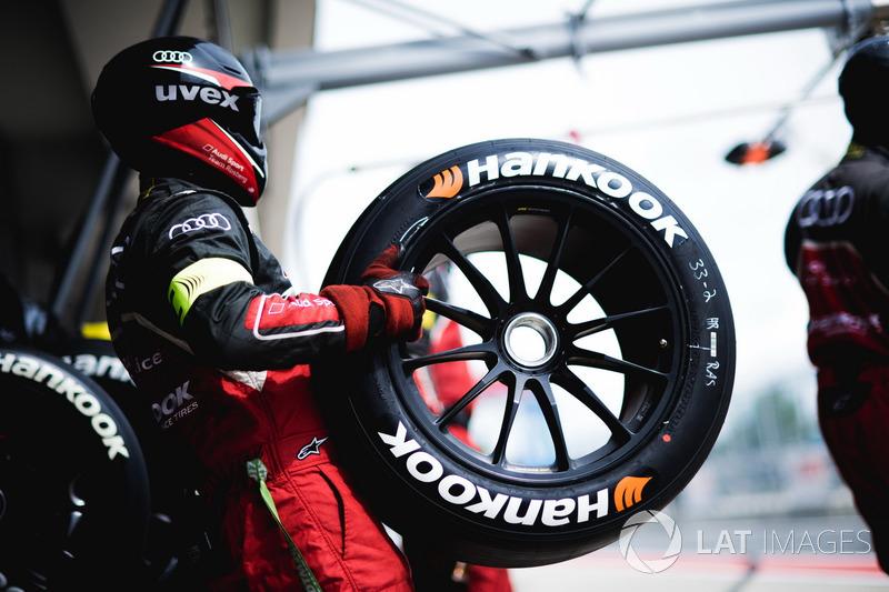 Team member of Audi Sport Team Rosberg