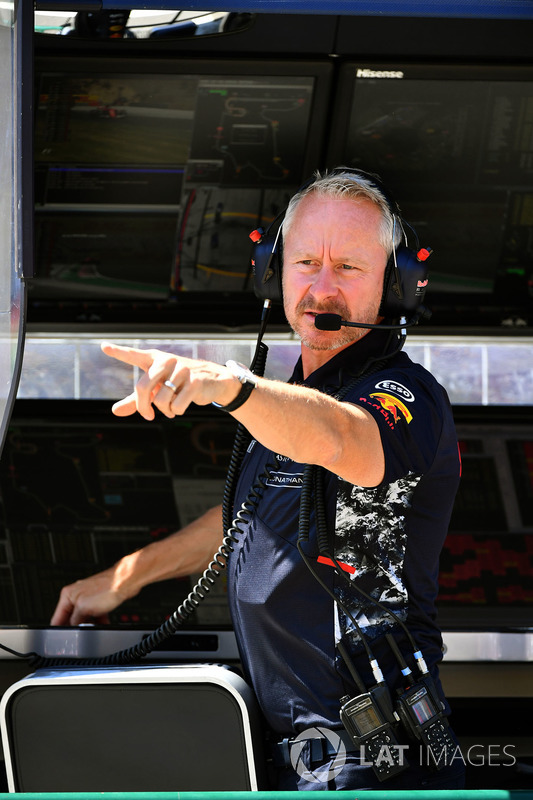 Джонатан Уітлі, керівник команди Red Bull Racing Team