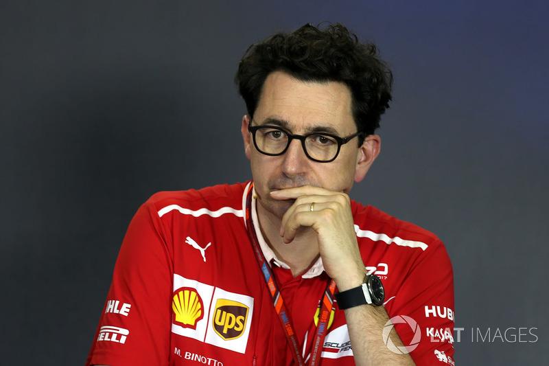 Mattia Binotto, Ferrari-Technikchef