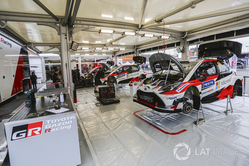 Zona de Toyota Racing team