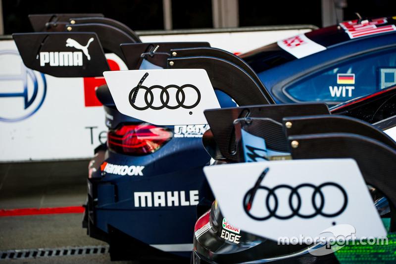 Антикрылья Audi RS5 DTM