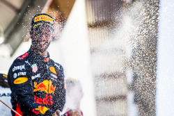 Podium: tercero, Daniel Ricciardo, Red Bull Racing