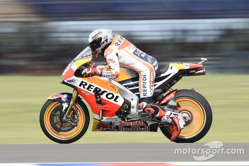 Marc Marquez, Repsol Honda Team, practice start